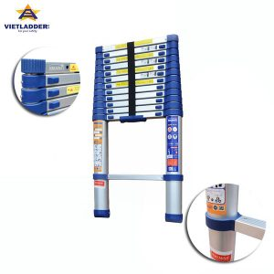 Single telescopic aluminum ladder NK VL44A