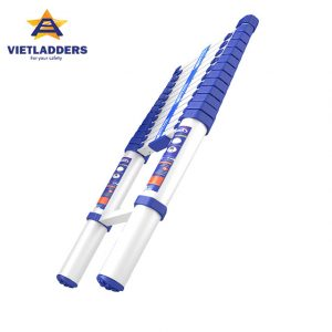 telescopic ladder blue alibaba