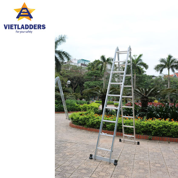 Two-joint Multi Purpose Ladder NVLG-309 stand 1