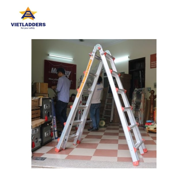 Multi Purpose Folding Ladder NVLB-46A stand